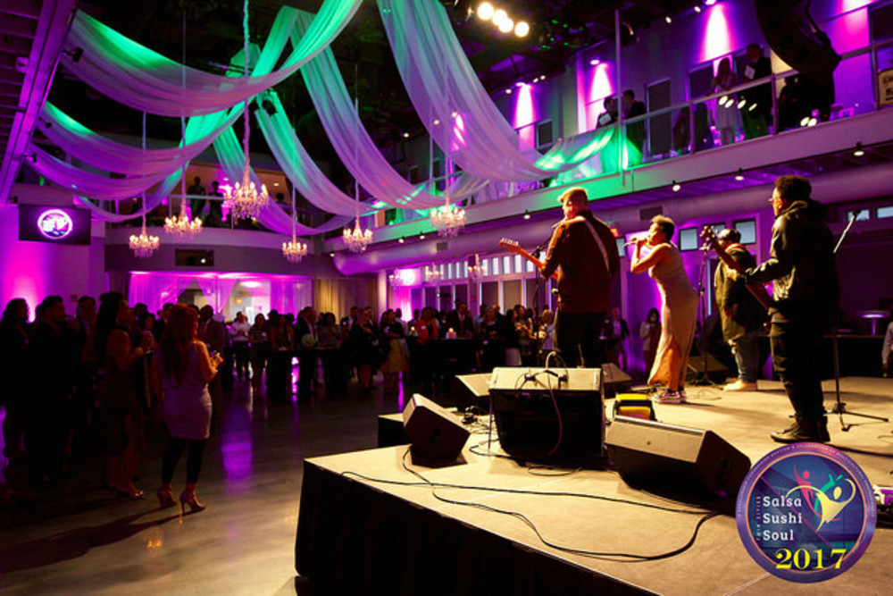Large event lighting and decor