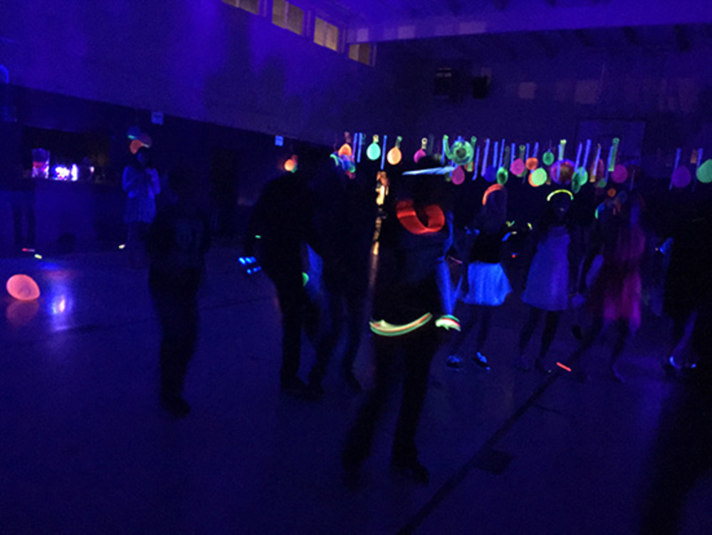 Neon Dance Party