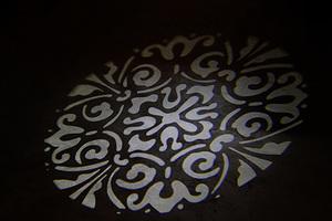 Lighting pattern floral design sm