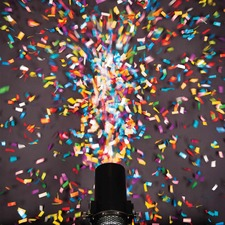 Confetti launcher multi colored