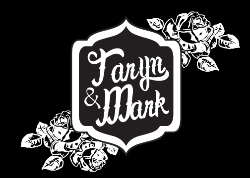 wedding monogram gobo design 11